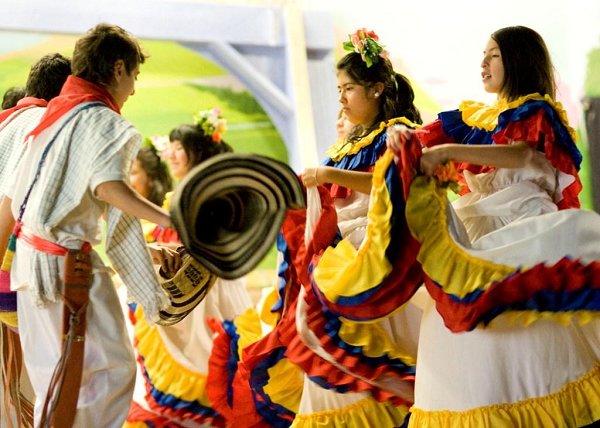 Музыка и танец в колумбии часть 3