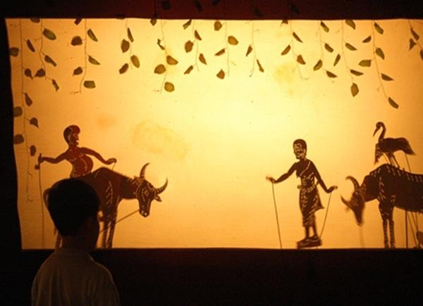 Камбоджийский театр теней сбек тхом