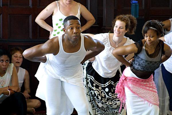 Гаитянские танцы африканского происхождения