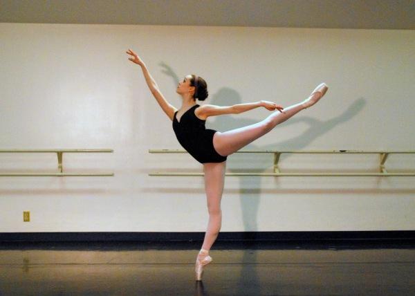 Одна из основных поз классического танца - арабеск