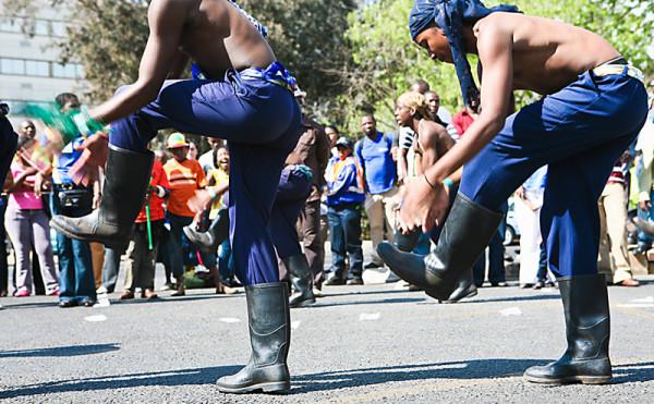 Танцы в резиновых сапогах