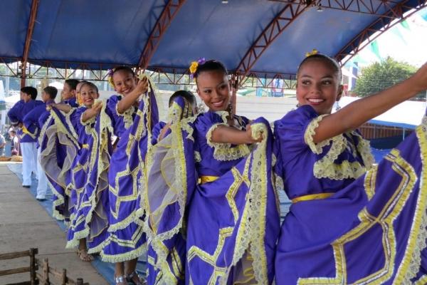 Традиционные танцы в Никарагуа