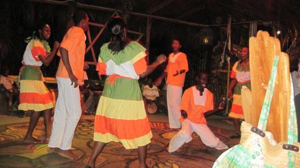 Танцы солнечной Ямайки