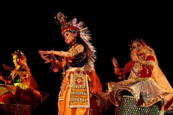Танцы индийского штата Манипур