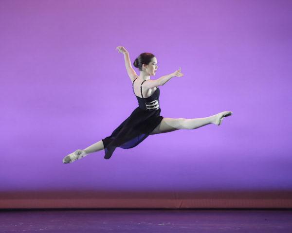 Прыжки в танце