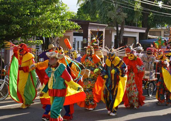 Пуэрториканский танец бомба