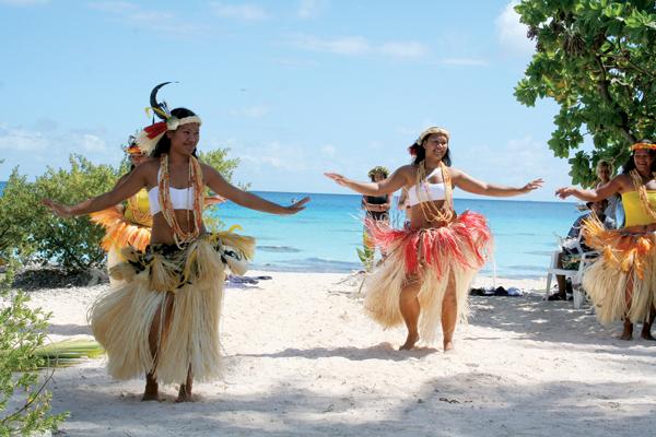 Танцы Таити