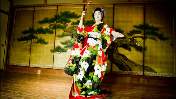 Классика японского танца- Nihon buyo