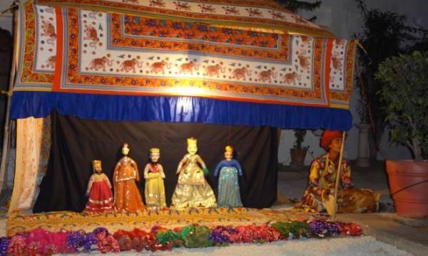 Индийский кукольный театр