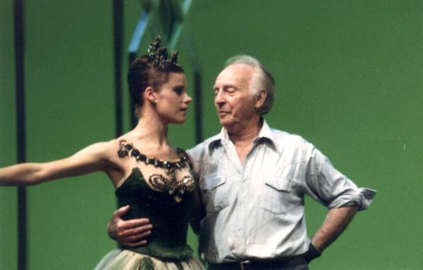 Американская балерина Меррилл Эшли