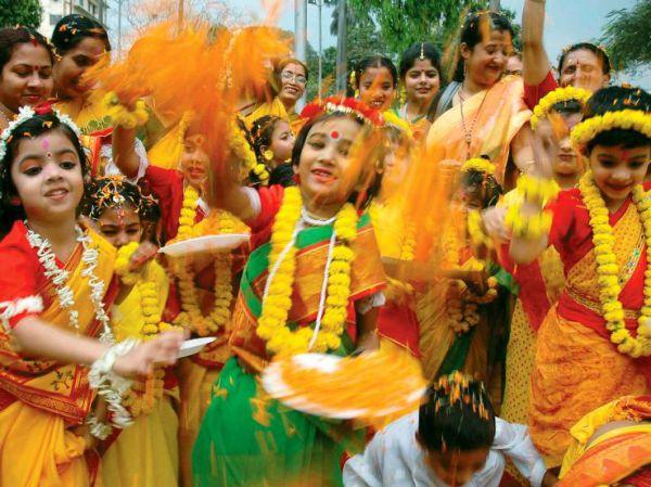 Бенгальские танцы на фестивалях