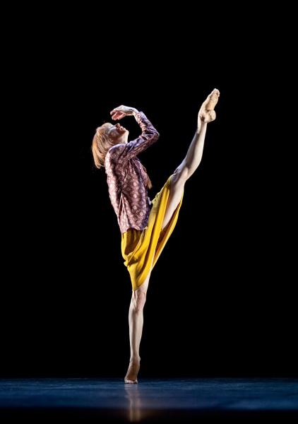 Знаменитость мира танца - Сильви Гиллем