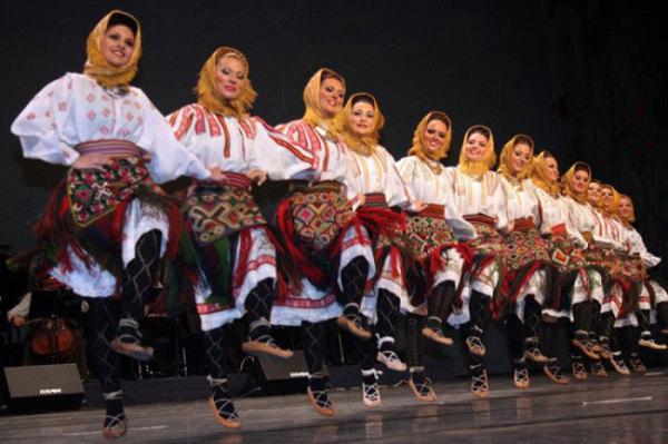 Европейские этнические танцы