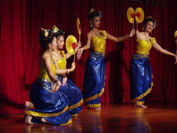 Традиционные танцы Таиланда