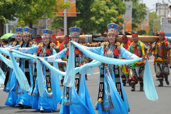 Танцы Внутренней Монголии
