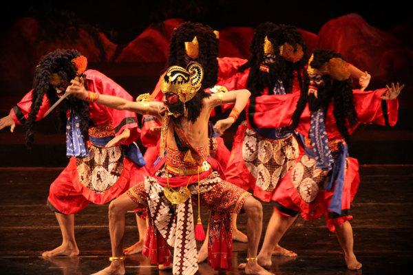 Танцы индонезийского острова Ява