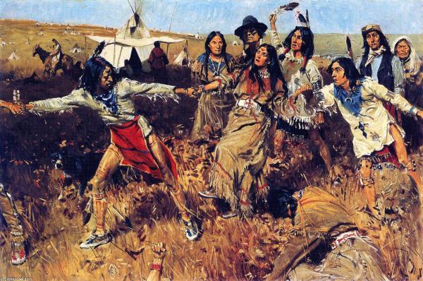 Индейский танец духа