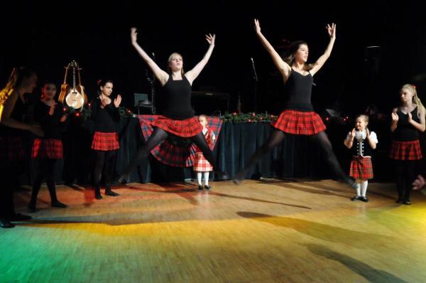 Шотландские танцы кейли