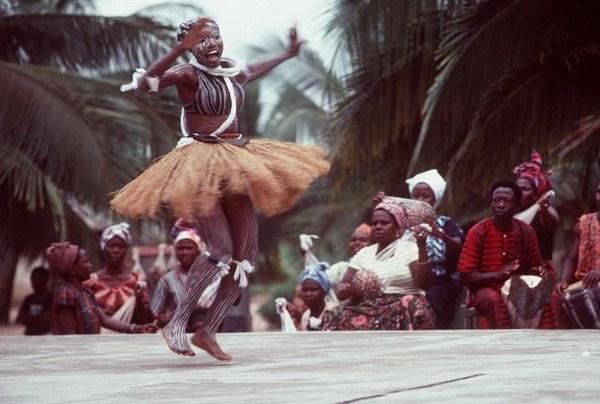 Африка - родина хореографии