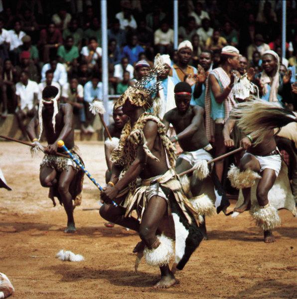 Африканская экспрессия танца