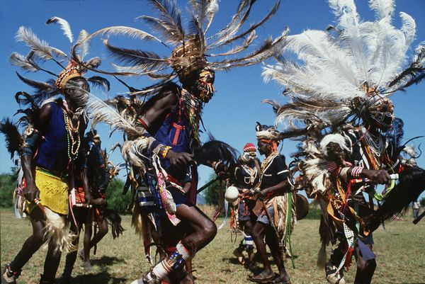 Танец с древней историей