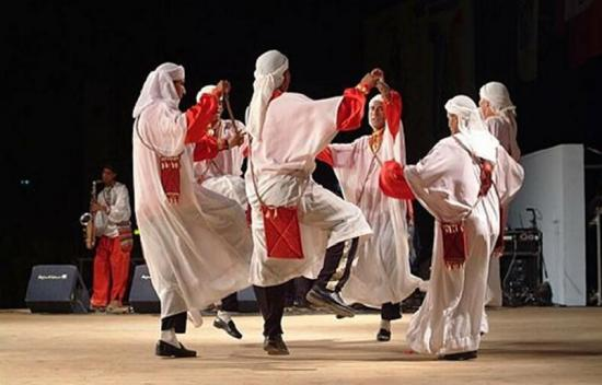 Традиционные танцы Алжира