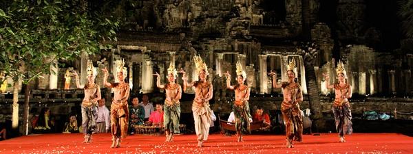 Апсара - кхмерский танец