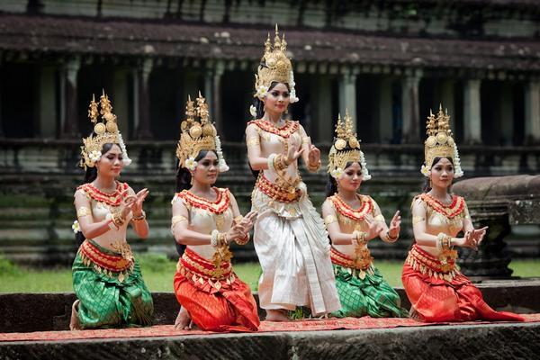 Апсара - искусство небесных танцовщиц