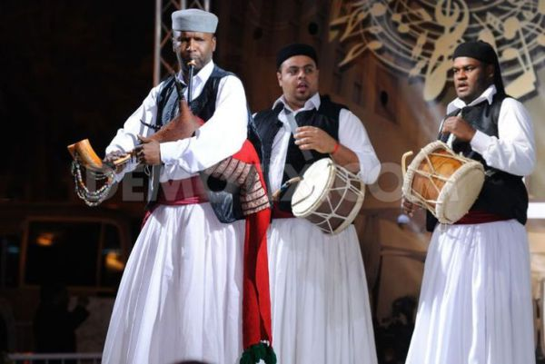 Мусульманские танцы в арабских странах
