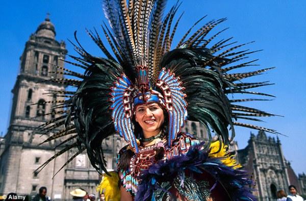 Ацтекские танцы