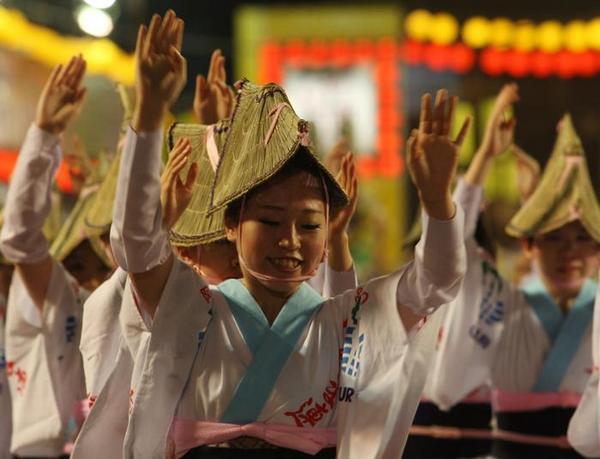 Танец дураков в Токусиме