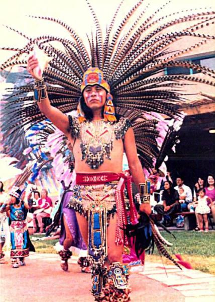 Традиционные танцы мексиканских индейцев