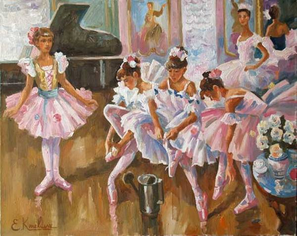Юные балерины.