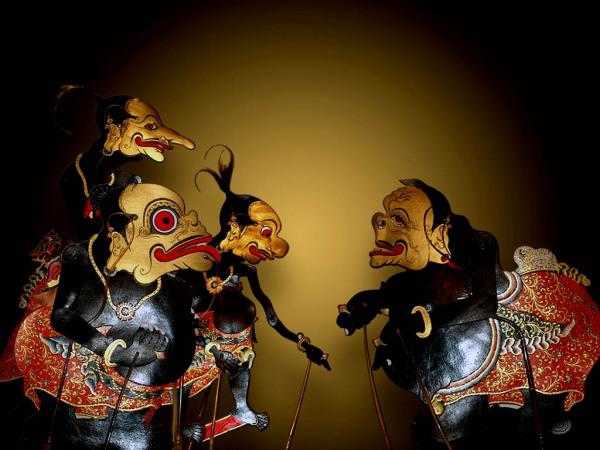 Балийский театр теней