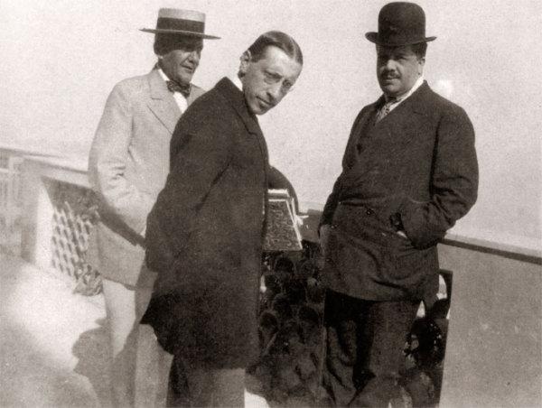 Генерал Безобразов, Игорь Стравинский и Сергей Дягилев