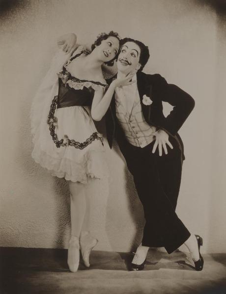 Александра Данилова и Леонид Мясин