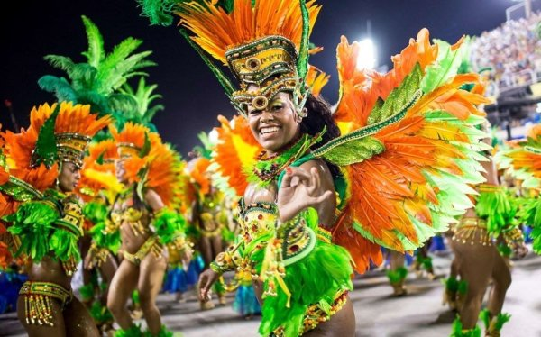 Танцевальный слот Samba de Janeiro: Добро пожаловать в Бразилию.