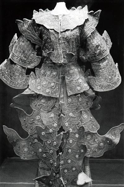 Придворный костюм танцора Мандалай