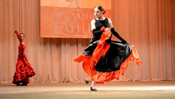 Качуча - танец с кастоньетами
