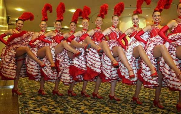 Танец с задиранием ног фото 24-623
