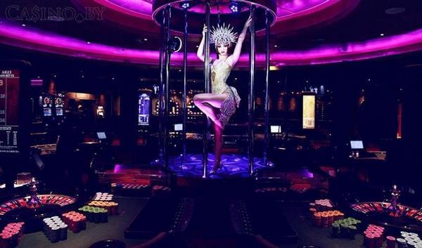 Танцы в казино Лас-Вегаса