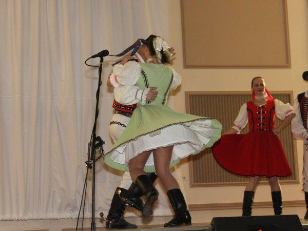 Словацие народные танцы