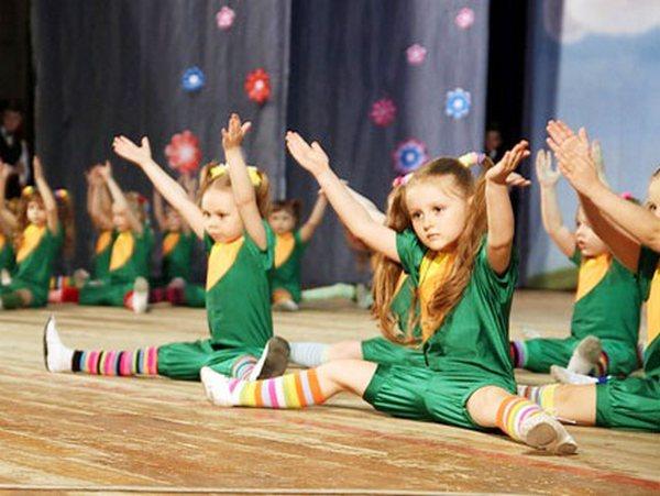Детские танцы - красиво и полезно