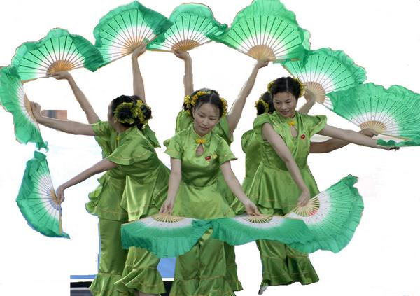 Такие разные китайские танцы