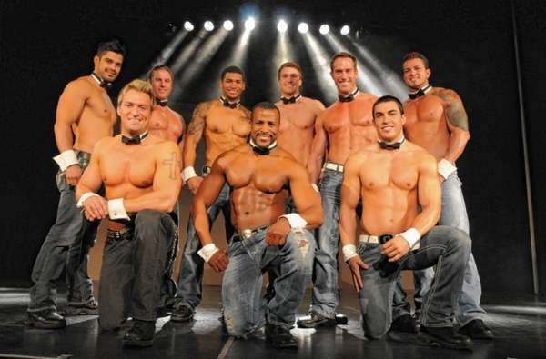 CHIPPENDALES – звезды мужского стриптиза в казино Лас-Вегаса