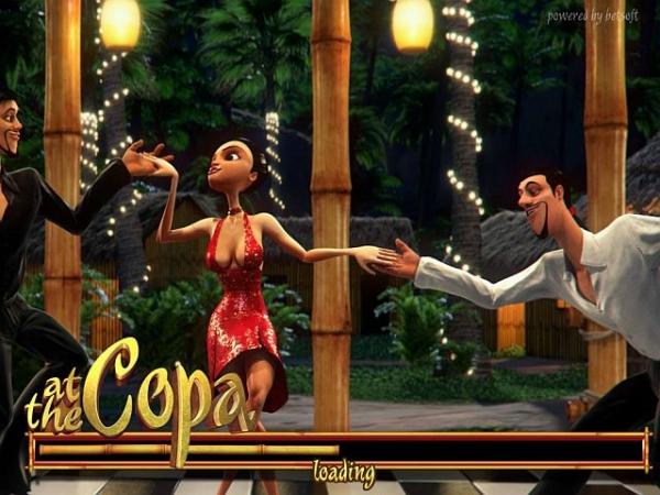 At the Copa - танцевальный 3D слот от BetSoft