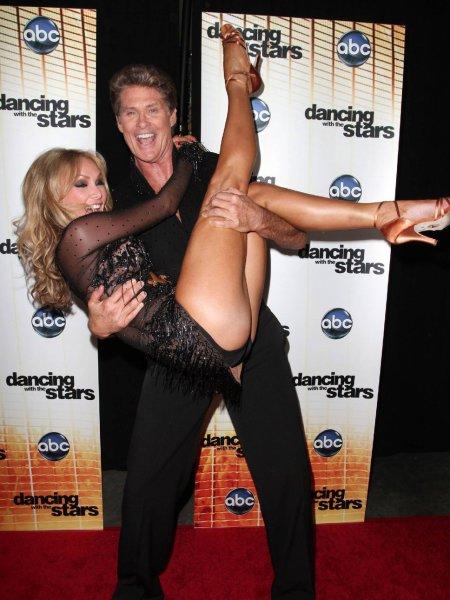 Ким Джонсон - балетные танцы на телешоу