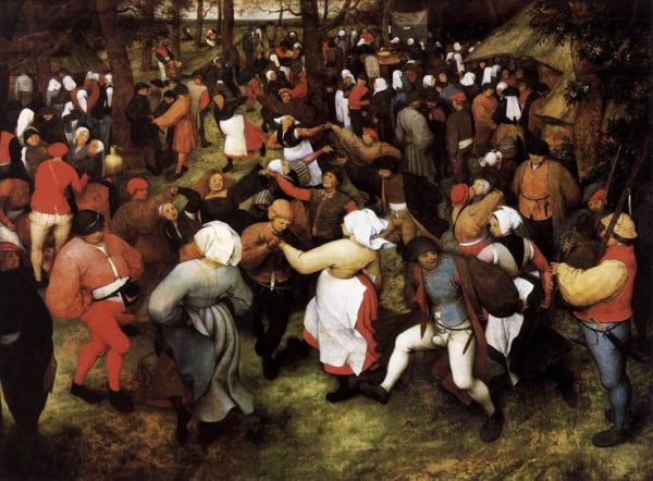 Средневековый танец кароль