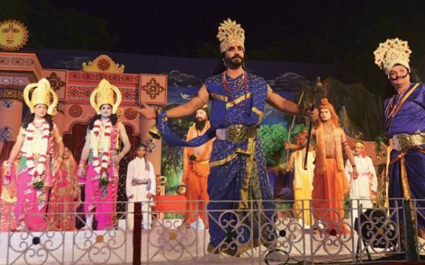 Индийская танцевальная постановка рамлила