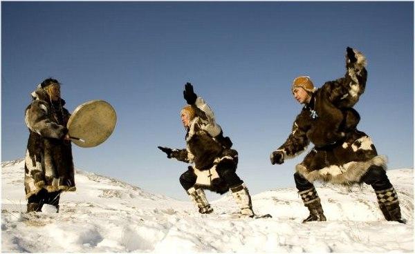 Социальные танцы эскимосов